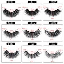 5 Pairs/boxes F/G Series Imitation Mink Eyelashes (12 models can be selected)