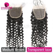 Lace Top Closure (4*4) Italian Curly Virgin Human Hair
